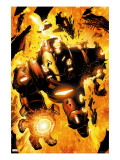 Iron Man: Hypervelocity 6 Cover: Iron Man