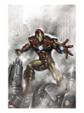 Indomitable Iron Man No1 Cover: Iron Man