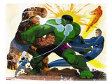 Fall of the Hulks: Gamma 1 Group: Hulk  Thing  Invisible Woman  Mr Fantastic and Human Torch