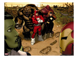 Hulk 1 Group: Red Guardian  Ursa Major and Darkstar