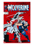 Wolverine 2 Cover: Wolverine and Silver Samurai