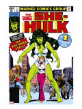 Hulk Family: Green Genes No1 Cover: She-Hulk  Walters and Jennifer