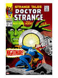 Strange Tales 164 Cover: Dr Strange and Yandroth