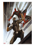 The Amazing Spider-Man 609 Cover: Spider-Man and Damon Ryder
