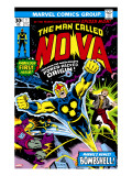 Nova: Origin Of Richard Rider - The Man Called Nova 1 Cover: Nova
