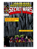 Secret Wars 4 Cover: Hulk and Captain America