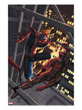 Marvel Age Spider-Man 15 Cover: Spider-Man and Daredevil