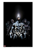 Inhumans 2099 1 Cover: Black Bolt and Inhumans Flying