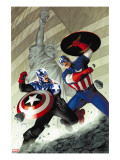 Captain America 40 Cover: Captain America
