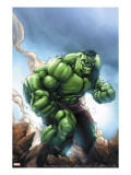 Marvel Age Hulk No1 Cover: Hulk
