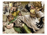 Assault on New Olympus Prologue 1 Group: Hercules  Zeus  Amatsu-Mikaboshi  Ares and Phobos