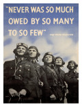 WWII British RAF Recruiting Poster