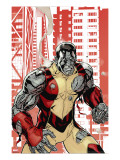 Uncanny X-Men 507 Cover: Colossus