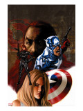 Captain America 36 Cover: Captain America and Black Widow
