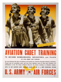 WWII AAF Cadet Training Poster