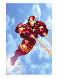 Iron Man: Iron Protocols 1 Cover: Iron Man Fighting