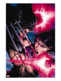 Psylocke No4 Cover: Psylocke and Wolverine