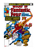 What If 6 Cover: Mr Fantastic  Invisible Woman  Human Torch  Thing and Fantastic Four