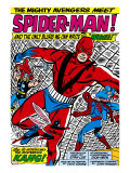 Avengers Classic 11 Group: Spider-Man  Giant Man and Wasp