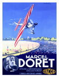 Marcel Doret Aviation Expo Poster