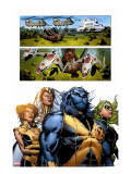Astonishing X-Men 32 Group: Beast  Brand  Abigail  Armor and Storm