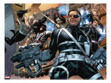 Secret Warriors 5 Cover: Nick Fury