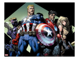 Ultimatum 3 Group: Captain America  Hawkeye  Iron Man and Valkyrie