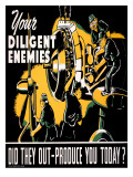 Your Diligent Enemies Production Poster