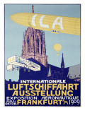 German Airship Dirigible Show Poster
