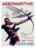 Aeromaritime Aviation Poster