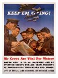 WWII US AAF 'Keep'em Flying'