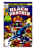 Black Panther 7 Cover: Black Panther Charging