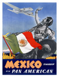 Pan American Mexico Tomorrow Poster