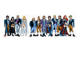 Handbook: X-Men 2005 Group: Emma Frost  Black Queen  Hellfire Club and White Queen