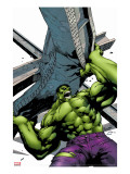 Marvel Adventures Hulk No2 Cover: Hulk