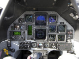 The Interior Cockpit of an Iraqi Air Force T-6 Texan Trainer Aircraft