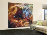 A Stellar Nursery known as R136 in the 30 Doradus Nebula