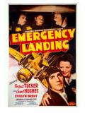 Forrest Tucker Emergency Landing Poster