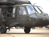 A UH-60 Black Hawk Taxis Out for a Mission over Northern Iraq