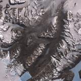 The Mcmurdo Dry Valleys West of Mcmurdo Sound  Antarctica