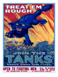 US Army Recruiting Poster &#39;Join the Tanks&#39;