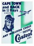 Castrol Motor Oil To Cape Town Poster