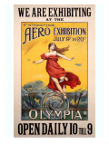 Aero Olympia Air Exposition Poster