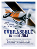 German National Aviation School Poster
