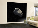 An Artist&#39;s Impression of a One-Half-Mile-Diameter Kuiper Belt Object