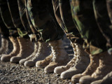 Afghan National Army Air Corp Soldiers Training in Kandahar  Afghanistan