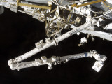 The Canadian-Built Space Station Remote Manipulator System (Canadarm2)  During Undocking Activities
