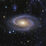 Messier 81  or Bode&#39;s Galaxy  is a Spiral Galaxy Located in the Constellation Ursa Major
