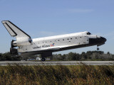 Space Shuttle Atlantis Touches Down at Kennedy Space Center  Florida