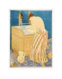 Woman Bathing  1890-1891